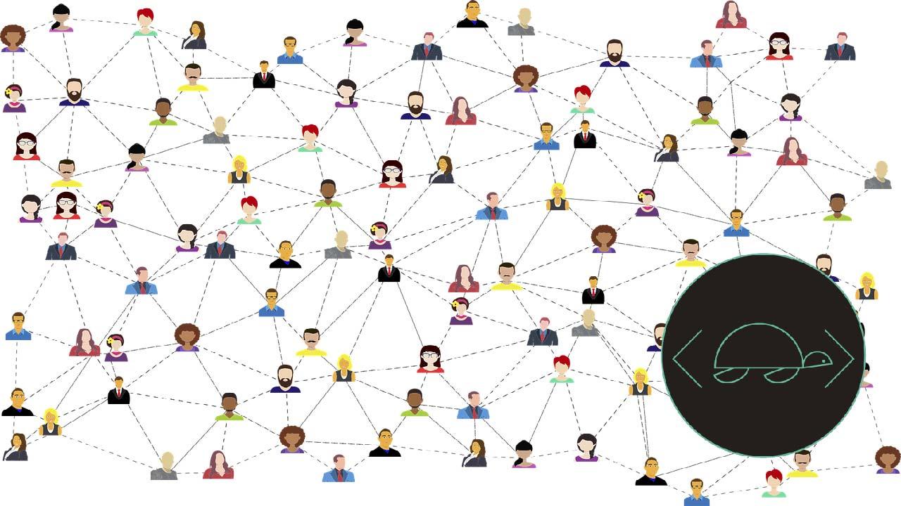 comunidad en línea