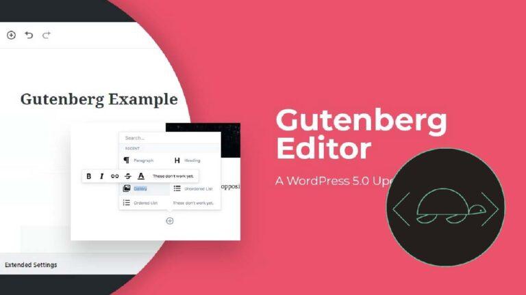 Complementos de Gutenberg para mejorar el editor de bloques